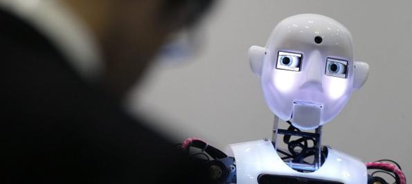 Robot vs humano